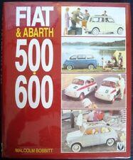 FIAT & ABARTH 500 600 MALCOLM BOBBITT 1993 FIRST EDITION