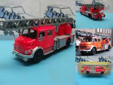 Fire truck camion pompiers bomberos  Mercedes-Benz L1519 German  Ixo/Salvat 1:43