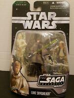 Star wars saga collection luke skywalker battle of endor