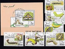 Afghanistan 1996 - Block & Sheets - Vlinders / Schmetterlinge / Butterflies