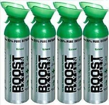Boost Oxygen NEW 10 LITER can - Natural (4-pack)