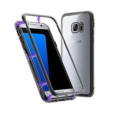 Samsung Galaxy S7 Edge Magnet Schutzhülle Bumper Case Handy Schutz Hülle Tasche