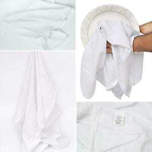 5 Pcs Kitchen Flour Sack Towel Pure 100% Cotton Extra Absorbent soft Dish cloth