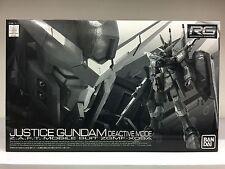 Premium Bandai 0177885 RG 1/144 Justice Gundam Deactive Mode ZAFT MS ZGMF-X09A