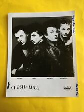 Flesh For Lulu Press Photo 8x10�, Nick Marsh, Rocco Barker, Capitol, See Photos.
