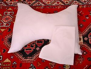 Butterfly Pillow For Back & Neck Support Cervical Pillow Including Free Cover