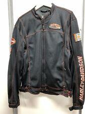 Harley Davidson Performance Black Mesh Jacket Gr. L 97360-13VM Netzjacke