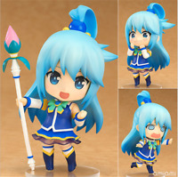 Anime Konosuba Aqua Nendoroid 630 Action Figure PVC Model 10CM Doll Toy In Box