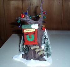 Snow Village Series Department 56 Kids Tree House Retired 5168-3