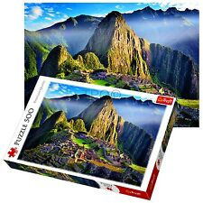 Trefl 500 Piece Adult Large Sanctuary Of Machu Picchu Floor Jigsaw Puzzle NEW