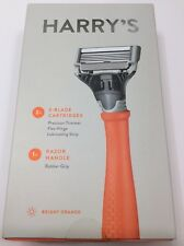 HARRY'S RAZOR - 2X 5-Blade Cartridges (Bright Orange)