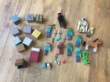 Minecraft Figures & Accessories Big Collection. Steve Alex Zombie Creeper Horse