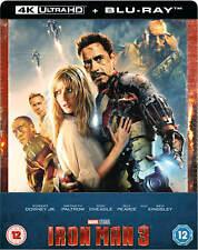 Iron Man 3 Steelbook 4K UHD + Bluray Zavvi NEU OVP