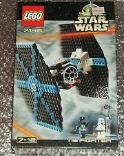 STAR WARS LEGO 7146 TIE FIGHTER * 100% Complete * BOXED * RARO