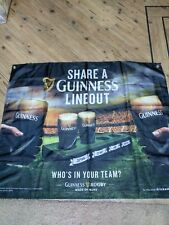 2 Guinness Lineout Trays, Flag and lanyards mancave brewmania collectable