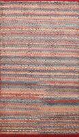 Geometric Color-full 5'x8' Moroccan Oriental Area Rug Modern Room Hand-made Wool