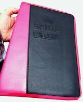 RVR 1960 Biblia Letra Supergigante. Funda Piel Fabricada reforzada, Concordancia