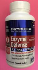 Enzymedica Enzyme Defense Extra Strength 90 Caps, Exp 12/2019