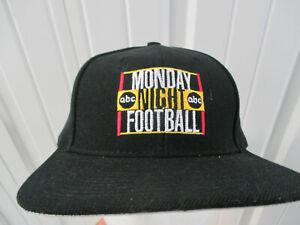VINTAGE TOW ABC NFL MONDAY NIGHT FOOTBALL SEWN LOGO SNAPBACK HAT CAP 80s NEW W/T