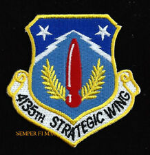 4135th Strategic Wing Hat Patch England AFB US 2nd AIR FORCE SAC B52 39th BOMB