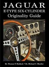 Jaguar E-Type 6-Cylinder Originality Guide - Buch book Six Data Numbers Changes