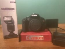 Canon EOS Rebel T3i 18MP Digital SLR Camera - Black (Body Only) + accessories
