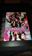 Zapp & Roger Greatest Hits Rare Original Promo Poster Ad Framed!