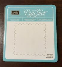 """Stampin' Up! """"Clear Large Scallop Square""""  Bigz Die  (Retired)"""