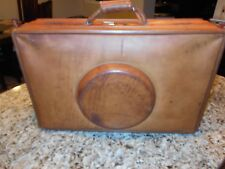 True Vintage Hartmann Belting Leather Luggage Very Rare Suitcase Carry on Bag