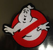 GHOSTBUSTERS 80's SCI-FI MOVIE TV COSTUME Quality Iron On Patch Badge XL 4.75inc