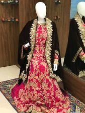 Brown Velvet Cape, Wedding Shawl, Kashmir Embroidered Shawls, Brides Capes, Wrap