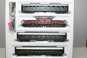 Roco 43982 Personenzug mit Elok Serie Ce 6/8 SBB Krokodil AC Spur H0 OVP