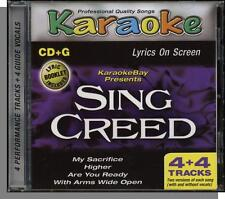 Karaoke CD+G - Sing Creed - New 4 Song CD! My Sacrifice, Higher, Are You Ready