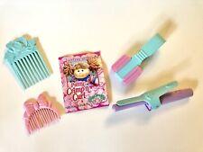 Vintage 1991 Cabbage Patch Kids Pretty Crimp N Curl Accessories & Booklet