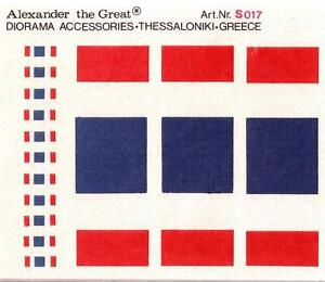 Alexander the Great 1/35 Diorama Accessories French Tri-Color Flags # S017