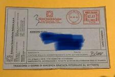 c285AMEdizioni scientifiche italiane €2,81 su su bolla 8.9.04