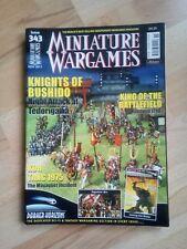 Miniature Wargames - November 2011 - issue 343