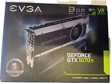 EVGA GeForce GTX 1070TI8GB DDR5 PCI Express 3.0 Video Graphics Card | EXCELLENT