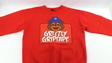 Diamond Supply Co Grizzly Griptape Crewneck Sweater Large Red