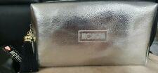 Morgan Silver Make-Up Cosmetic Bag New