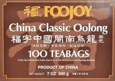 Foojoy China Classic Oolong (Wu Long) Weight Loss Tea 100 Tea Bags~FREE SHIPPING