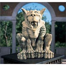 Canine-goyle Gargoyle Laughing Hybrid Statue Gothic Garden Sculpture