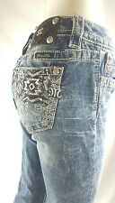 MISS ME BY ROCK REVIVAL BOOT CUT   SIZE 27
