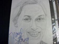 Meryl Streep autographed portrait with COA