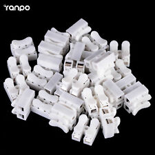 20pcs 2 Pins Electrical Cable Connectors CH2 Quick Splice Lock Wire Terminal RK