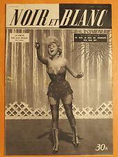 NOIR et BLANC 277 du 14/6/1950-Vérité sur Suzy Delair-Duc de Windsor n'a pas dit