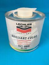 BC060 BRILLIANT COLOUR BLUE INK LECHLER INK COLOUR 0.5LTRS