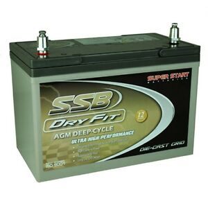 NEW AGM 12V100Ah BATTERY HVT70ZZLD