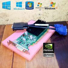 Windows 10 OptiPlex 390 790 990 SFF NVIDIA GeForce Dual Monitor Video Card