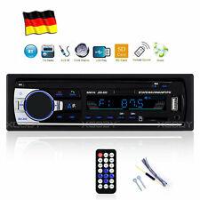 AUTORADIO MP3 PLAYER BT FREISPRECH-EINRICHTUNG USB TF AUX 1DIN STEREO DE